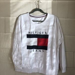 Tommy Hilfiger Jeans Long Sleeve Crew Sweatshirt